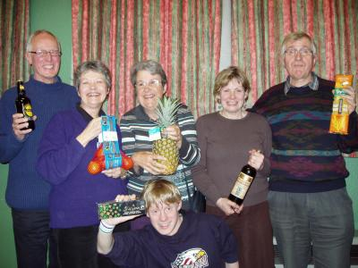 Shropshire Fairtrade Quiz winners, Shrewsbury, February 2008
