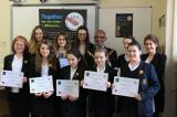 Fairtrade Fortnight  2014 NGHS prizewinners with Telford & Wrekin Mayor.jpg