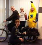 Fairtrade Fortnight 2014 Smoothie bike and banana suit.jpg